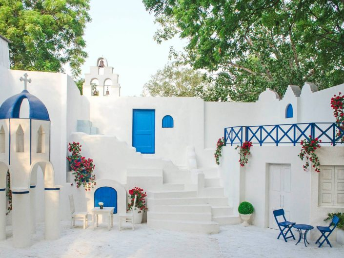 The Santorini Delight