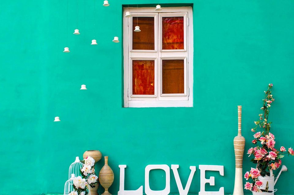 Turquoise Wall The Perfect Location Outdoor Photography Location