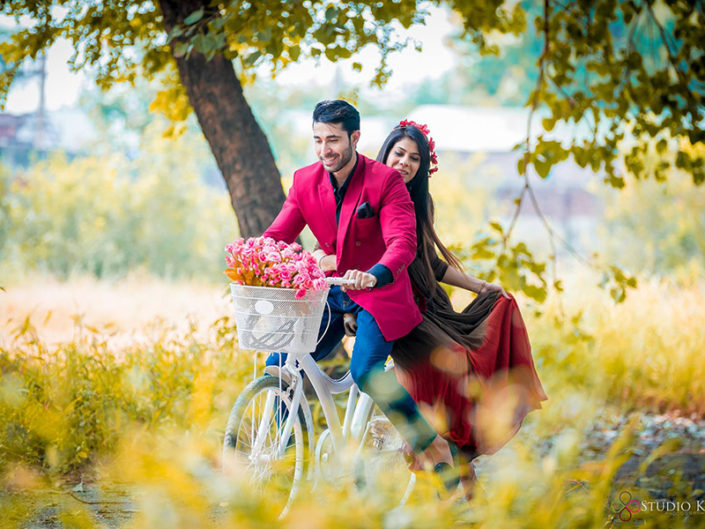 Open Area for Pre Wedding Shoots