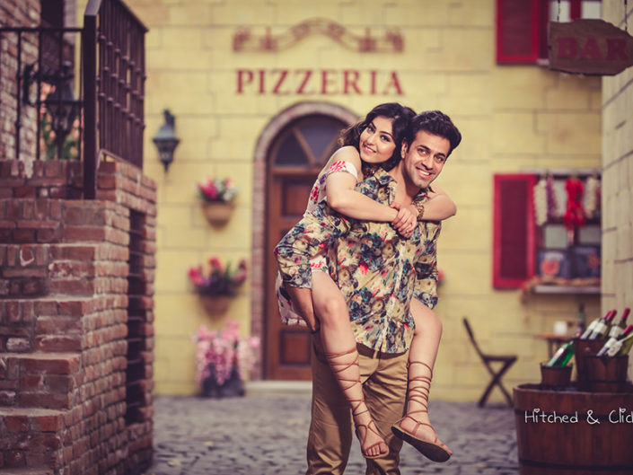 Tuscany Street Photo Shoot in Delhi