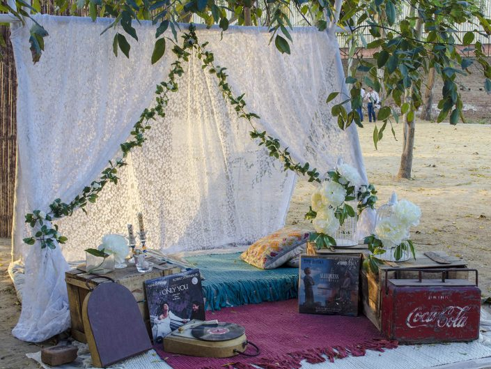 White Tent and Picnic